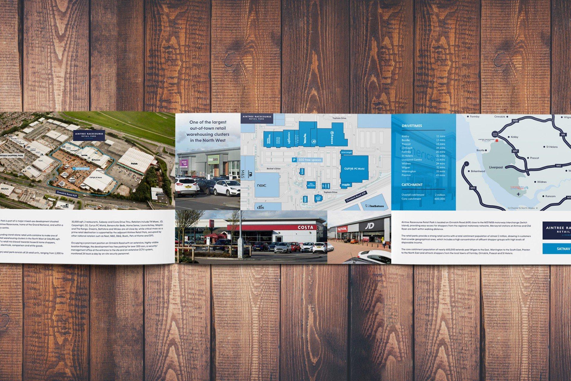 Brochures for property marketing