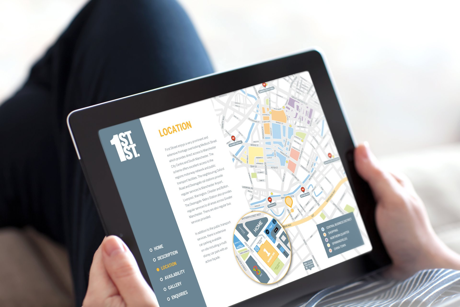 Digital iBrochure for Property Marketing