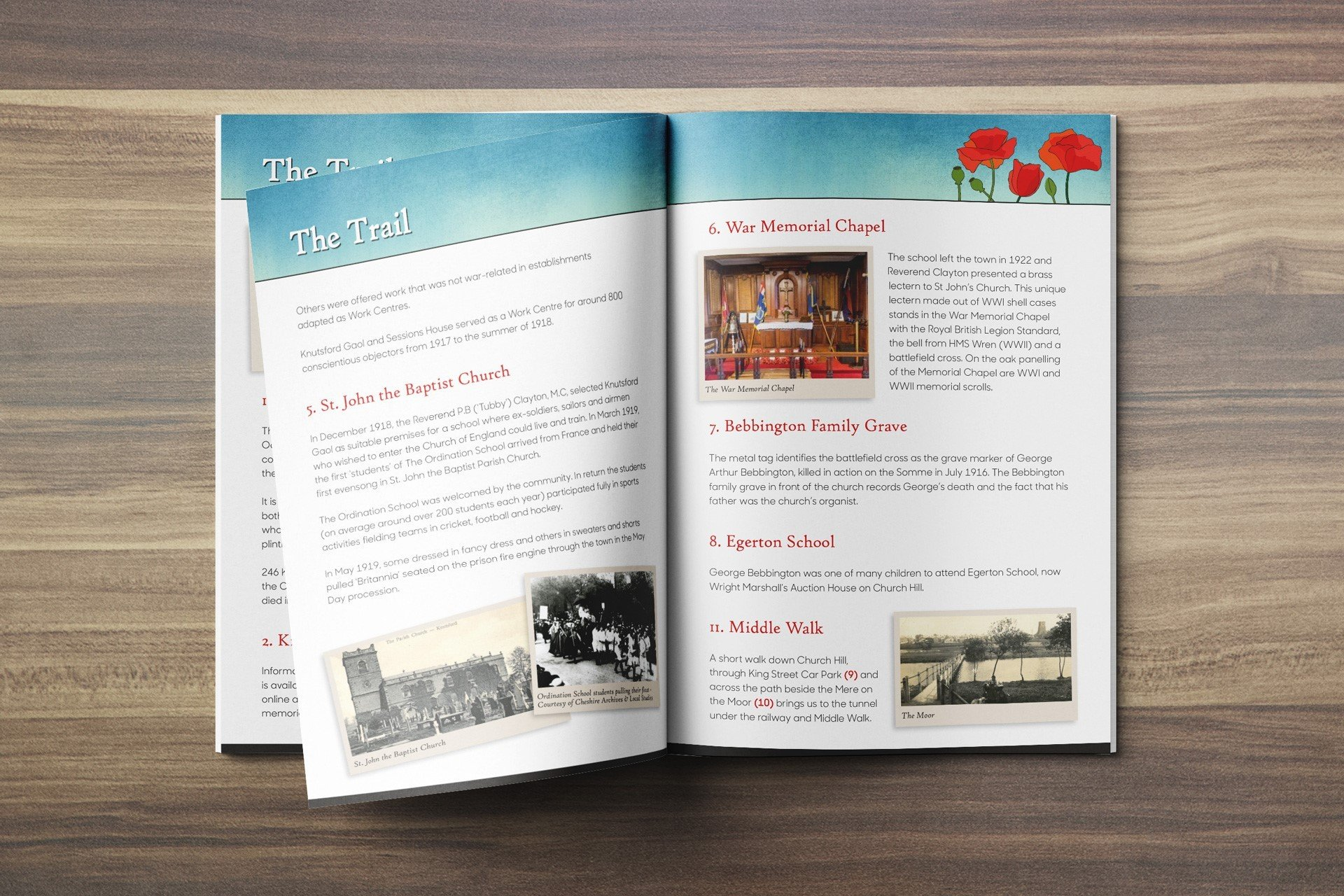 Knutsford Remembrance Trail Booklet
