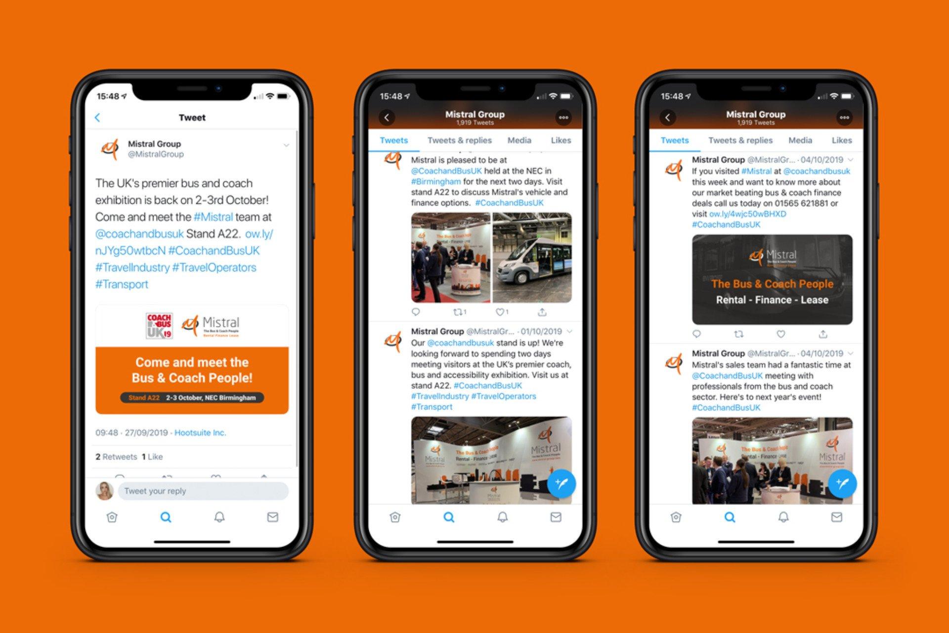 Mistral Social Media Platforms