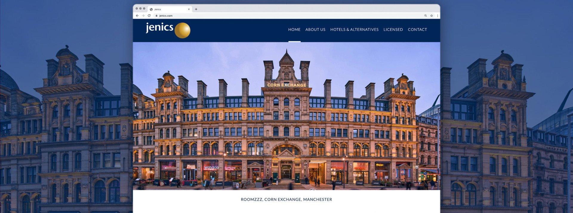 Jenics Website Design