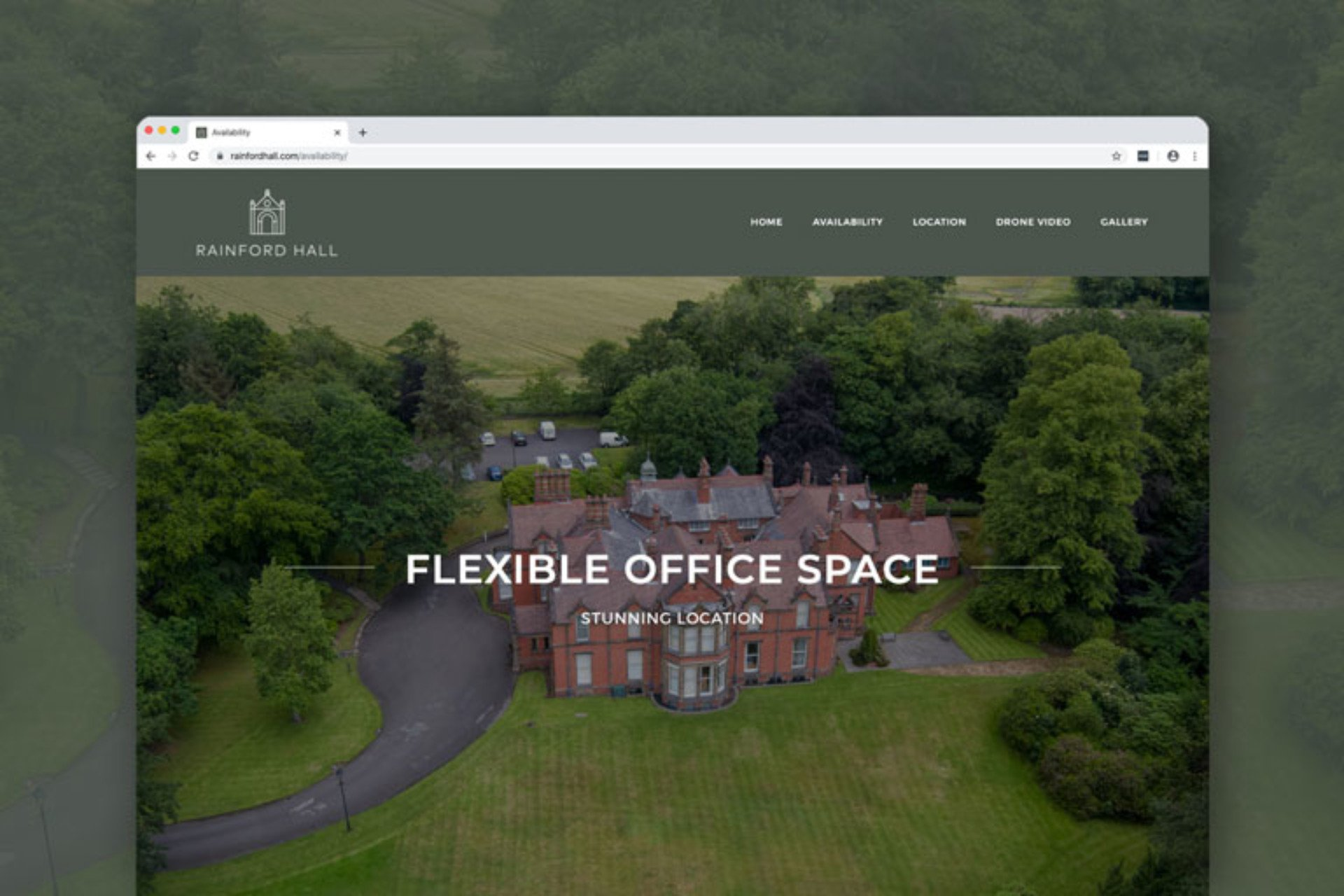 Rainford Hall Office Space Promotional Website
