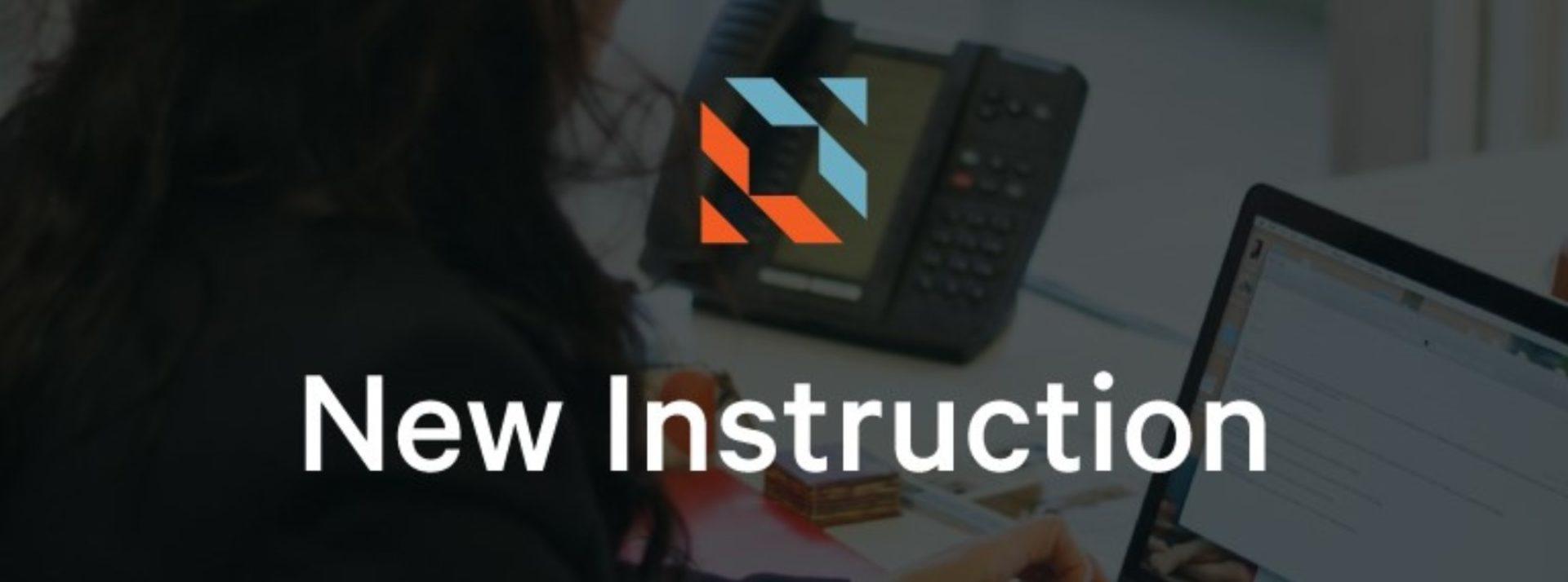 New Instruction