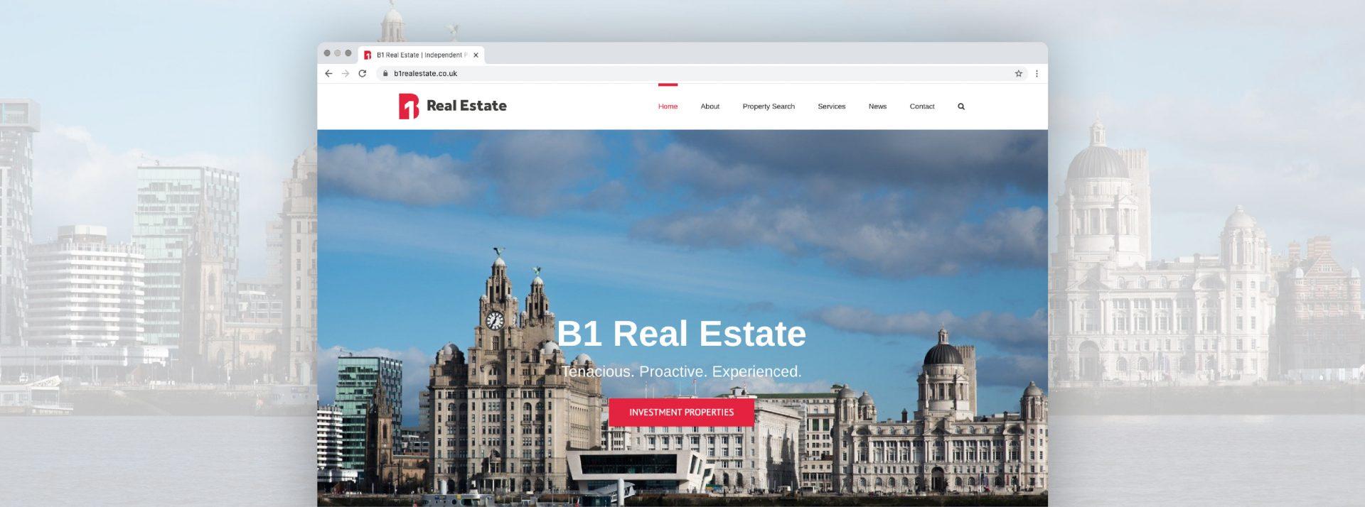 North West Real estate consultants website development