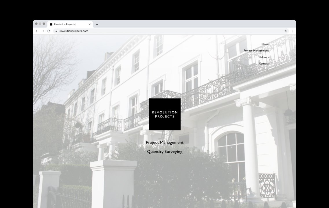 Responsive web design for property developer