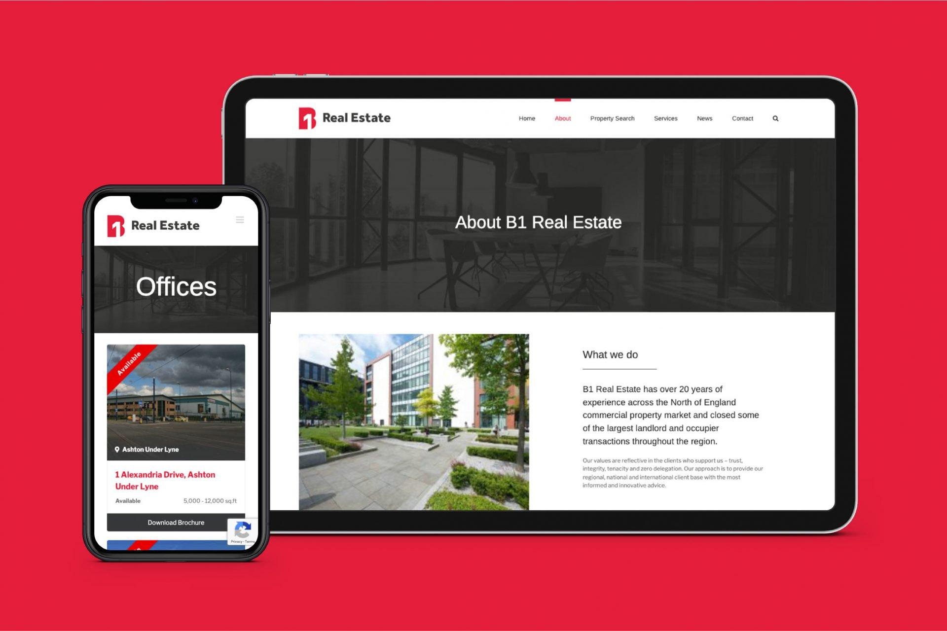North West real estate website development