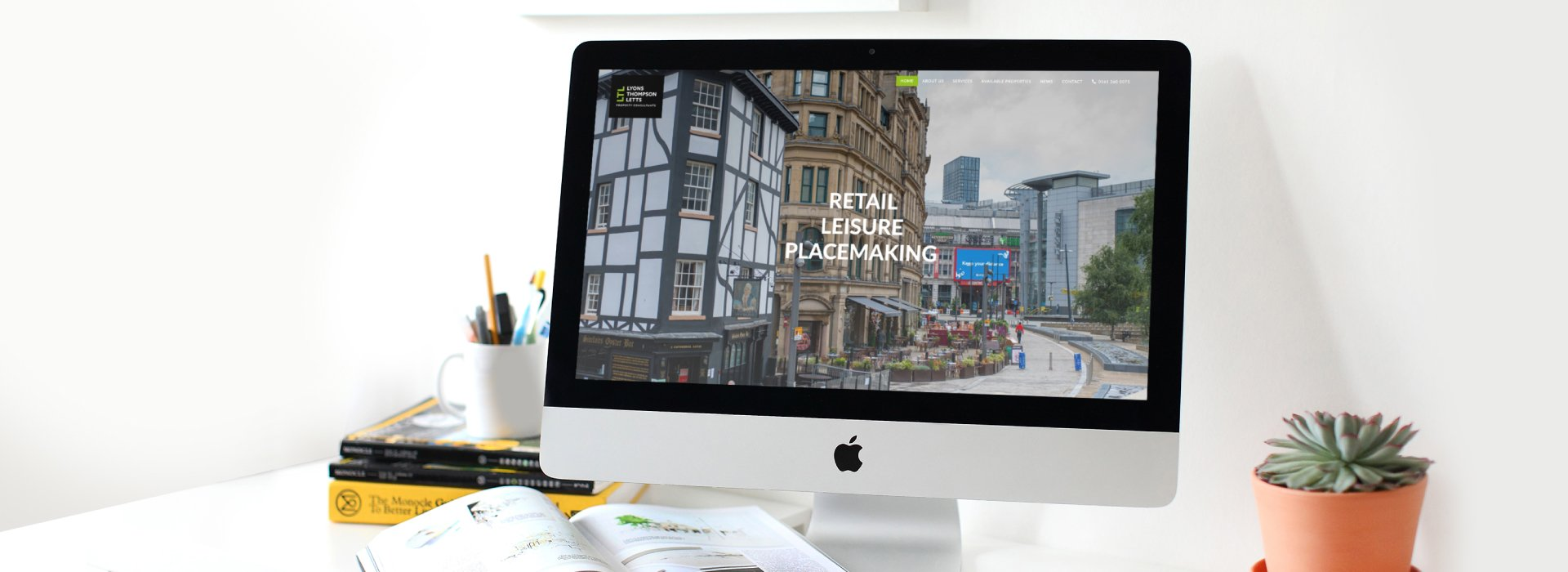 Website design for Lyons Thompson Letts