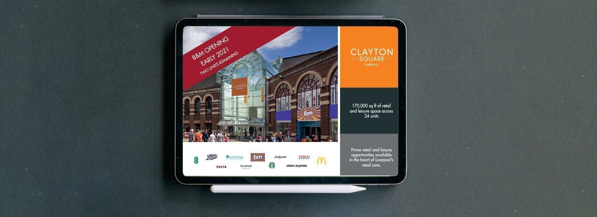 Digital Brochure for Clayton Square