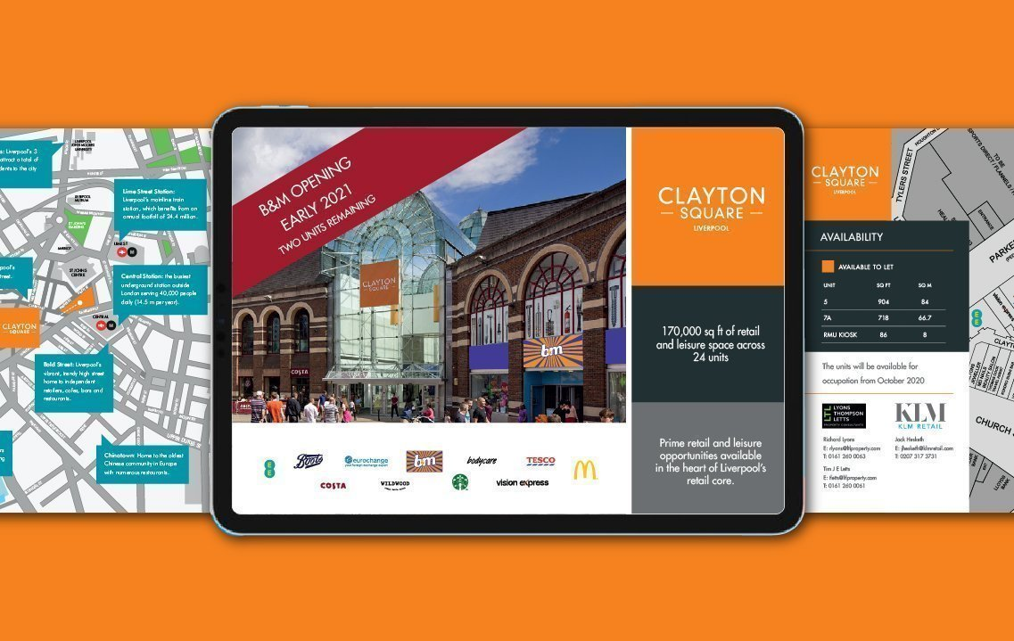 iBrochure for Clayton Square