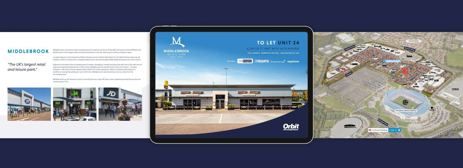 Branding Concept for Middlebrook Retail Park