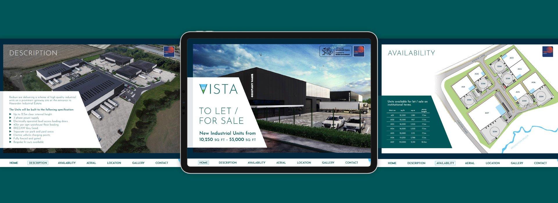 Vista Warehouse & Distribution Property Digital Brochure