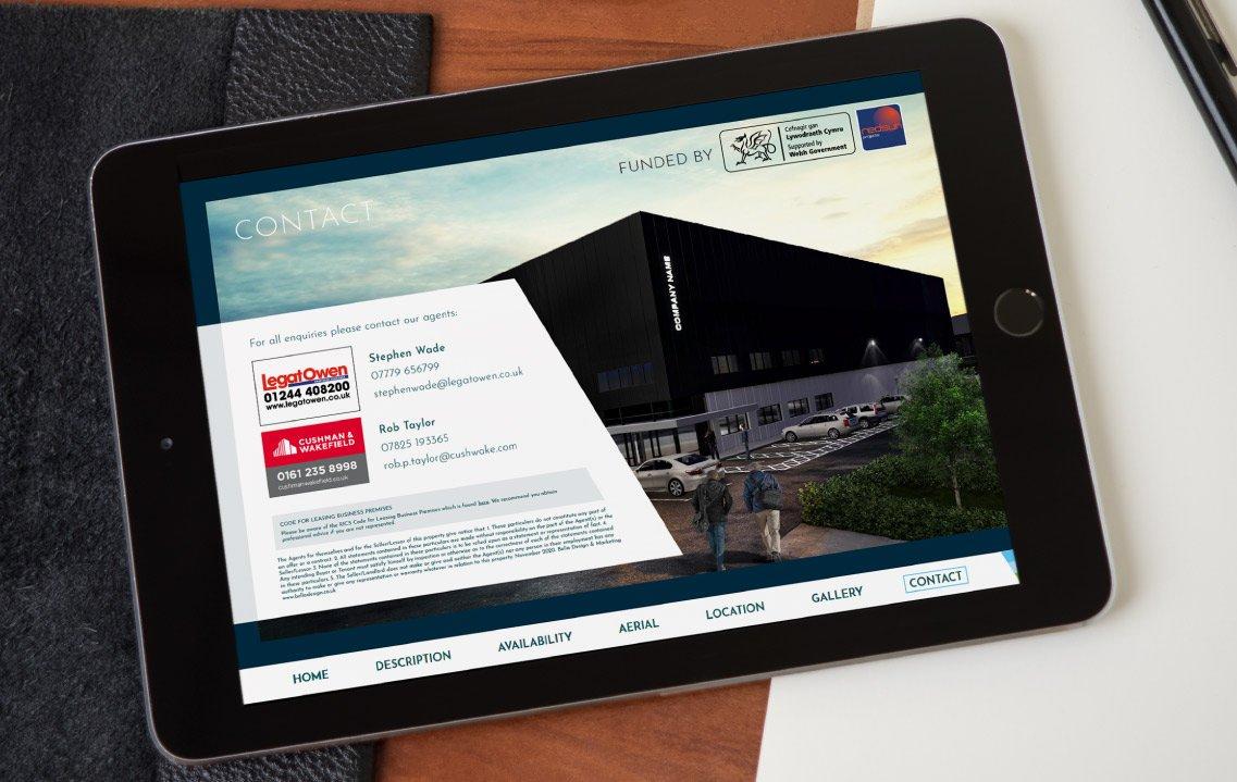 Branding and marketing materials for Vista