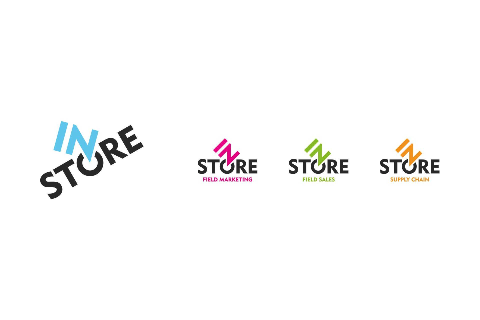 Instore Logo and sub-brands