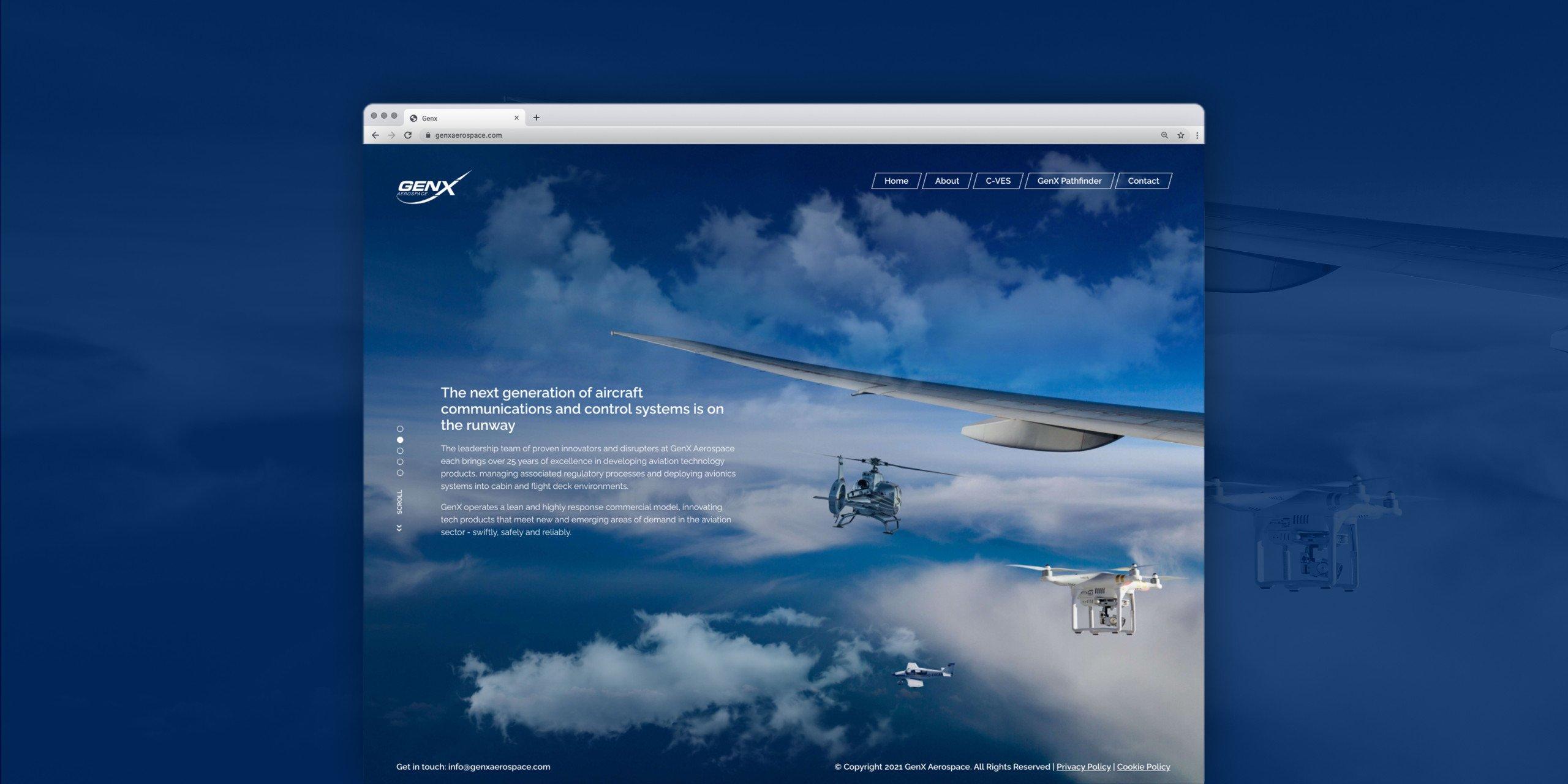 GenX Responsive Website Design