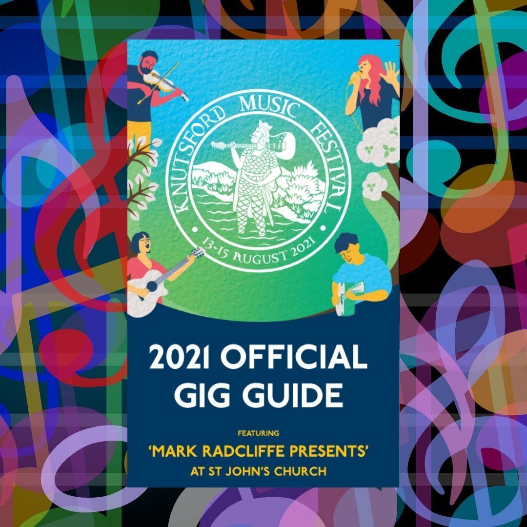 Knutsford Music Festival Gig Guide Design