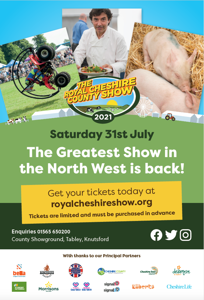 Marketing Materials for Cheshire Show
