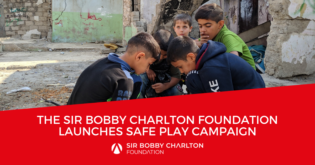 Sir Bobby Charlton Foundation launches safe play campaign